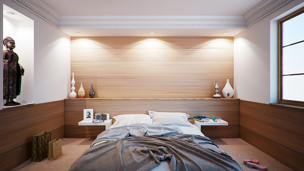 Chambre adulte intime