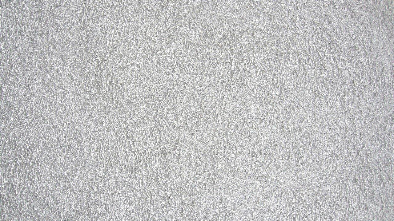 Mur blanc peint en crépi