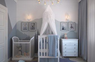 lit chambre de bébé